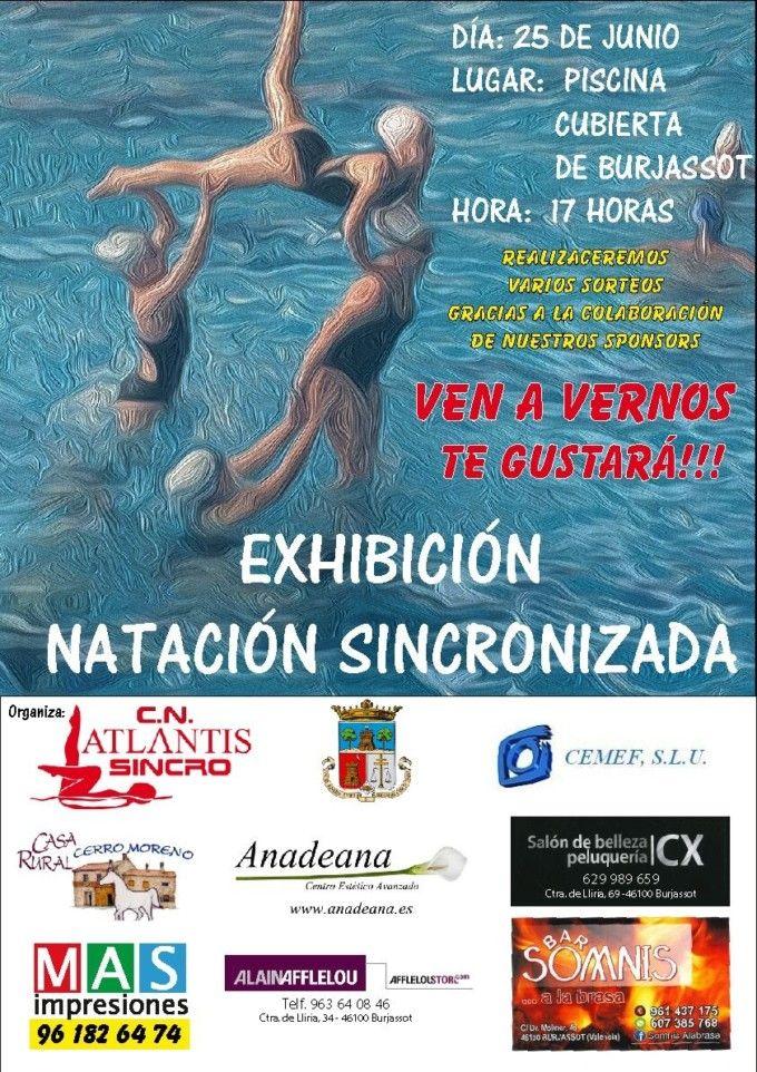 La piscina cubierta de burjassot acoge una exhibici n de for Piscina cubierta catarroja