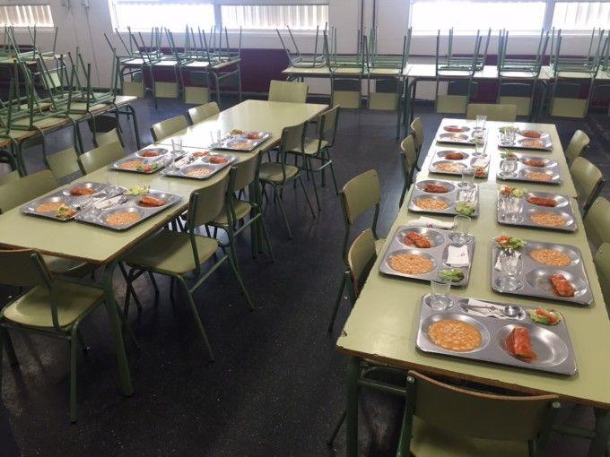Los comedores escolares de paterna sirven una media de 120 for Comedor escolar