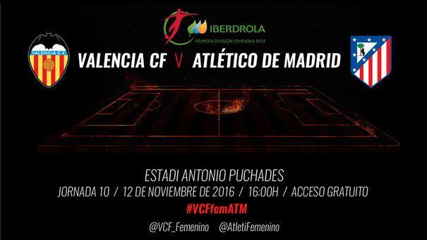 Valencia CF Femení vs Atlético Madrid Femení