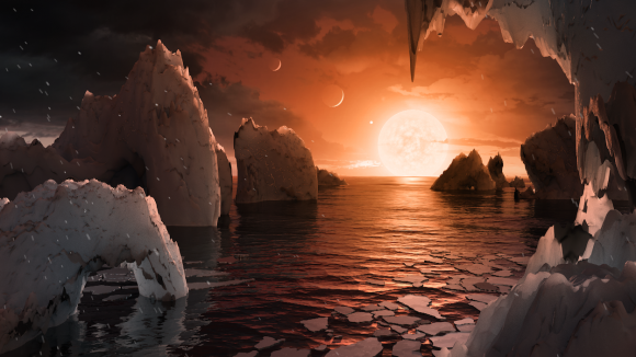 Trappist 1 sistema solar exoplanetas NASA ESO VLT JPL Caltech