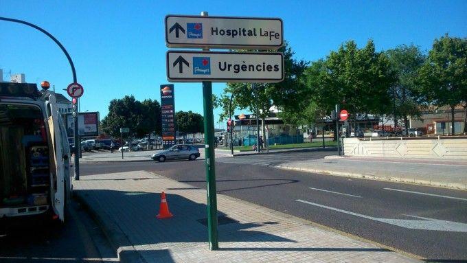 Nuevo acceso al hospital la fe de valencia valencia extra - Hospital nueva fe valencia ...