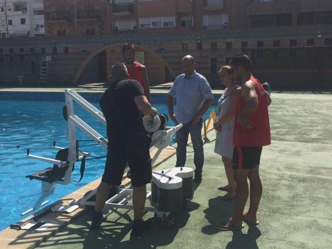 El ayuntamiento de massamagrell adquiere para la piscina for Piscina municipal quart de poblet
