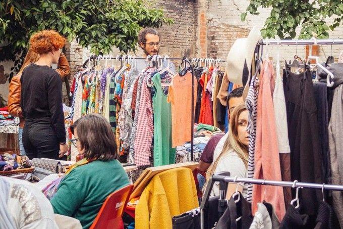 Mercado de segunda mano en Ruzafa
