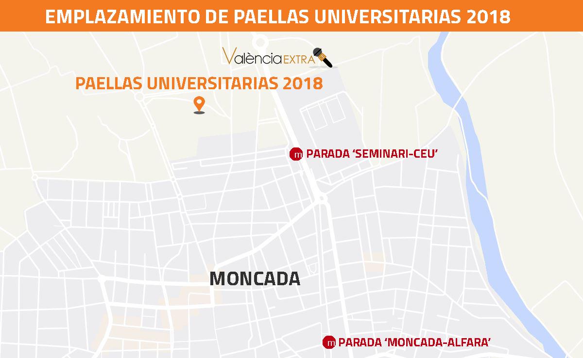 Paellas Universitarias en Moncada