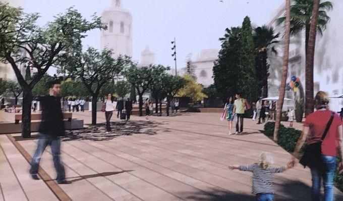 futura Plaza de la Reina