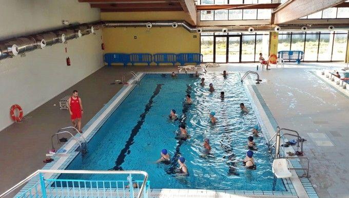 La piscina cubierta de xirivella abre temporada con la apertura para el ba o libre del vaso - Piscina cubierta alboraya ...