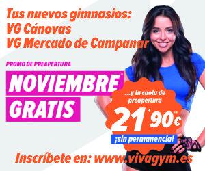 viva gym canovas