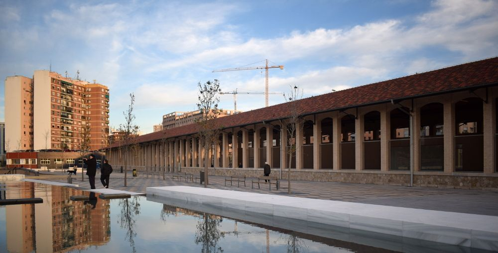 Edificios paraque central valencia
