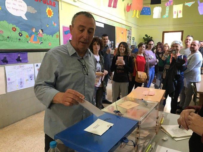 Baldoví votando 2019