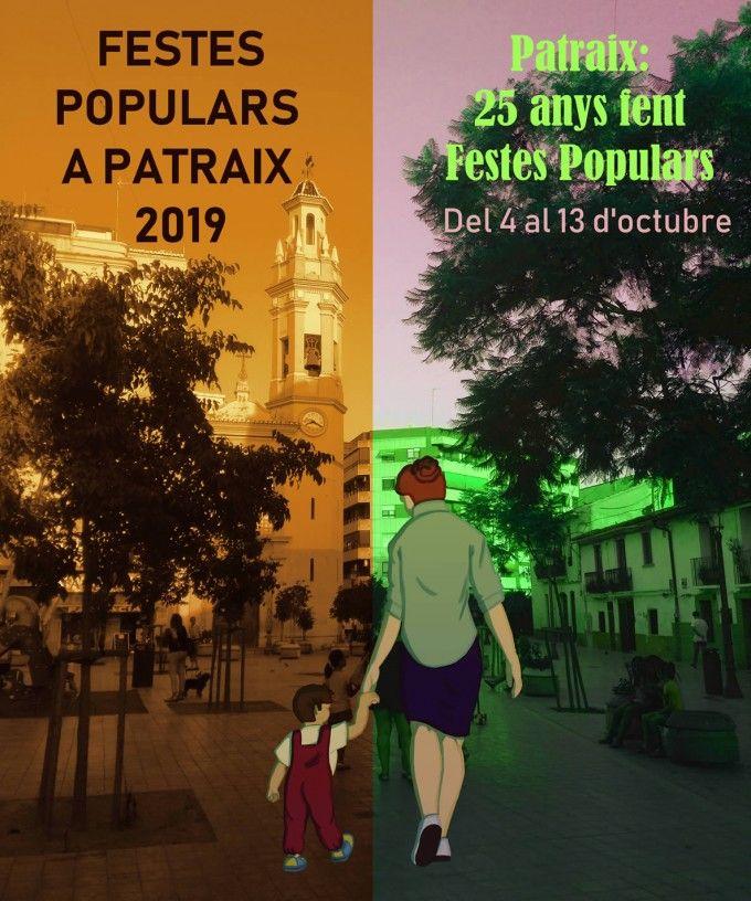 Cartel -Fiestas -Patraix -2019