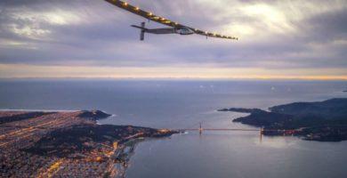 L'avió Solar Impulse 2 arriba a Espanya