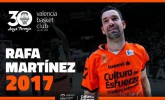 Rafa Martínez renova amb el Valencia Basket