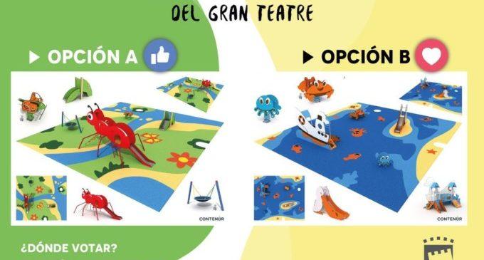 Els veïns de Paterna ja poden triar el nou disseny dels parcs infantils