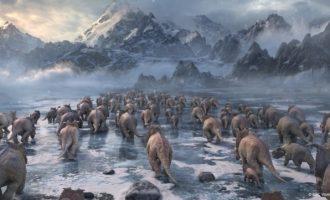 L'Hemisfèric acull a partir de hui la projecció 'Caminando entre dinosaurios: planeta prehistórico 3D'