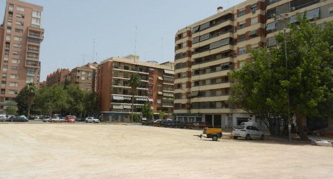 Finaliza la adecuación del solar situado en el colegio El Pilar