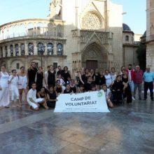 Jesús Martí: 'El camp 'Arte i Discapacidad' és pioner a integrar com voluntaris a jóvens amb diversitat funcional'