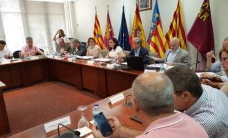 Cebrián insisteix en sumar esforços per a previndre incendis amb la Confederació Hidrogràfica del Xúquer