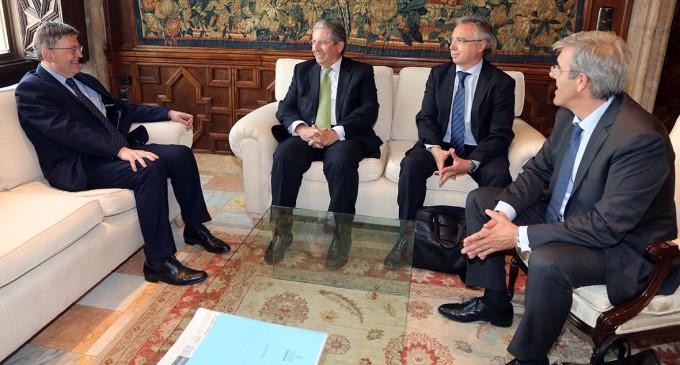 Puig rep en audiència el president de la Compañía Logística de Hidrocarburos