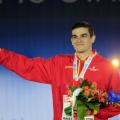Bruno Hortelano guanya l'or a Amsterdam i no s'ho pot creure