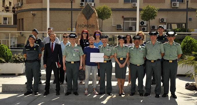 La Guàrdia Civil presenta la campanya contra el maltractament i abandó d'animals domèstics #YoSiPuedoContarlo