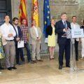 Puig i Salvador es reuneixen amb els alcaldes de la C-3 per abordar la 'modernització i electrificació' de la línia