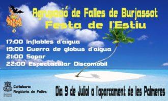 L'Agrupació de Falles de Burjassot celebra la seva Festa de l'Estiu