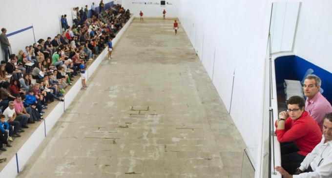 El trinquet de Pelayo acull la final del Trofeu Diputació d'Escala i Corda