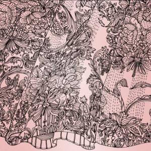 Ilustració seda