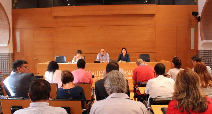 Se constituye la mesa negociadora del convenio colectivo de las universidades públicas valencianas