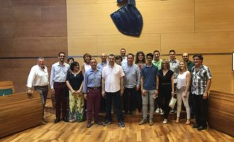 Les bandes de música de Yátova presenten el seu certamen en la Diputació
