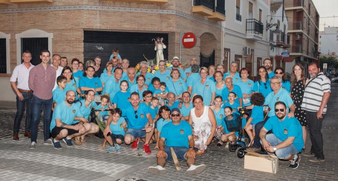 Els veïns del barri de la Moreria culminen les seves festes del Bon Pastor