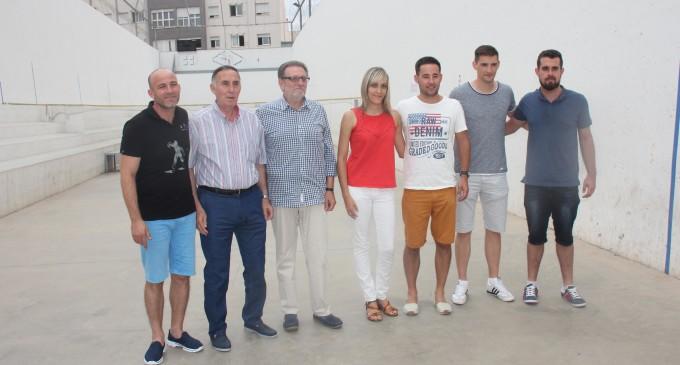 Torrent, capital de la pilota valenciana durant les festes patronals amb el I Trofeu de pilota de la ciutat