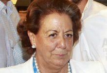 El PP proposa que Rita Barberá siga nomenada alcaldessa honoraria