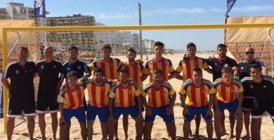 El València CF Futbol Platja es presenta davant de l'afició