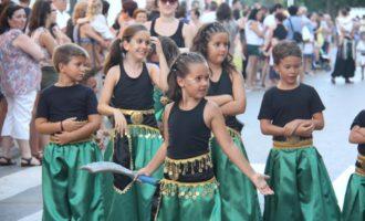 Els xiquets, protagonistes de l'Entradeta Infantil