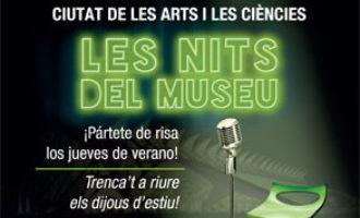 La Ciutat dels Arts i les Ciències oferix el monòleg de María Juan dins de 'Les Nits del Museu'