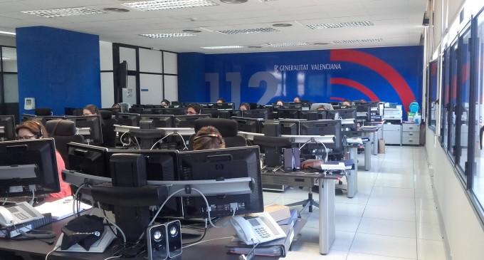 El telèfon d'Emergències 112 Comunitat Valenciana duplica en la temporada estival el nombre d'operadors que atenen en anglés i francés