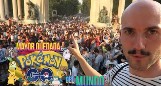 La mayor quedada de Pokemon Go ha tenido lugar en Madrid