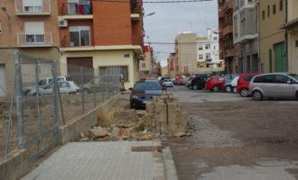 L'Ajuntament inicia obres per a urbanitzar el carrer de l'aurora a Castellar-L'Oliveral
