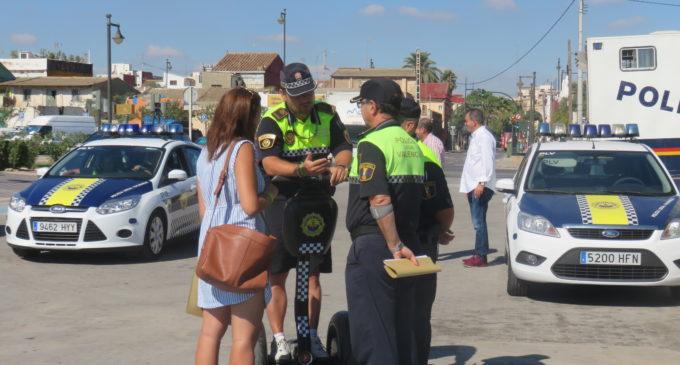 La Policia Local estudia nuevas medidas para prevenir el extravío de niños en las playas