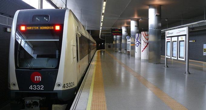 Servei interromput en part de la línia L2 de Metrovalencia