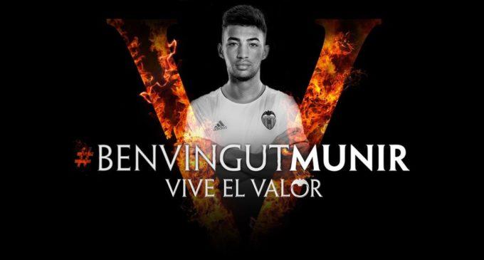Directament des de Barcelona, Munir és el nou i jove davanter del Valencia