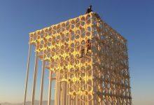 La falla Renaixement ja està plantada en el festival Burning Man