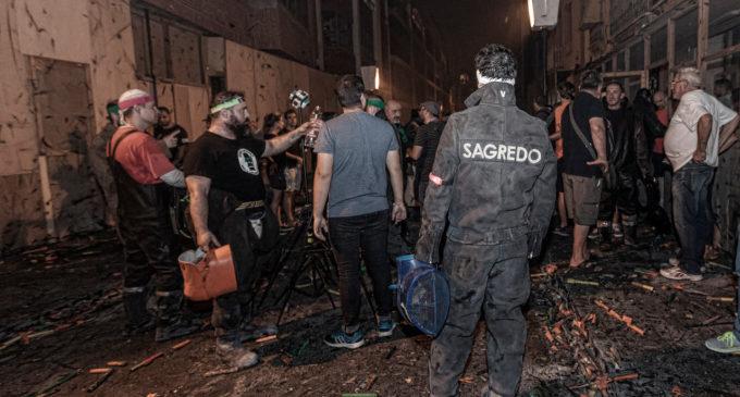 Paterna s'il·lumina amb la Cordà més segura i amb menys ferits de la història