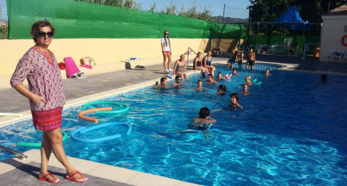 Cotes invierte 43.500 euros de la Diputación en renovar las instalaciones de la piscina municipal