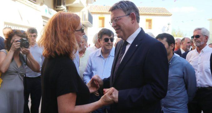 Puig assisteix al funeral del pintor valencià Joaquín Michavila