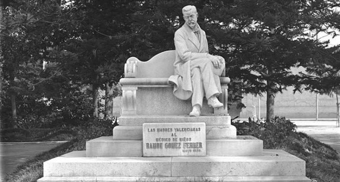 Restaurat el monument al Doctor Gómez Ferrer
