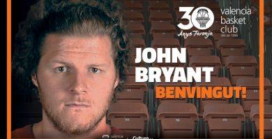 John Bryant, nova incorporació al València Basket