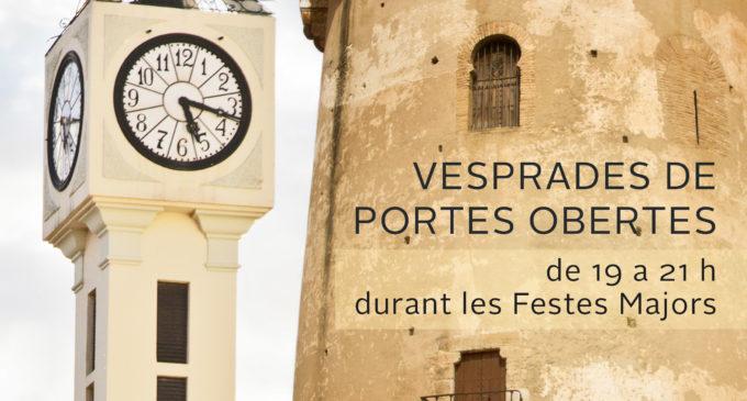 La Torre i El Calvari de Paterna estaran oberts al públic durant les Festes Majors
