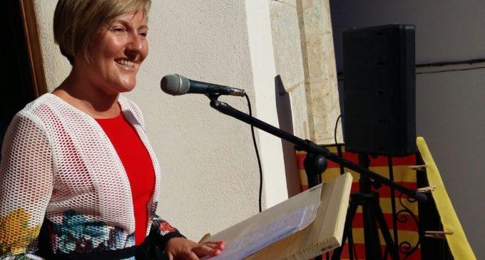 La consellera María José Salvador pronuncia el pregó de les festes de Cinctorres
